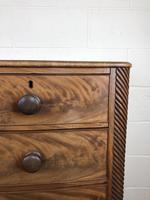 19th Century Mahogany Bow Front Chest of Drawers (9 of 12)