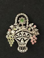 French Marcasite Brooch c.1900