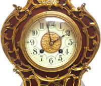 Wow! Phenomenal French Boulle Mantel Clock on Original Bracket 8 Day Mantle Clock (2 of 7)