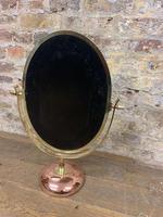 Bronze Table Top Mirror c.1930 (5 of 5)