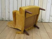Antique French Tub Armchair for re-upholstery (4 of 8)