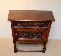 French Dark Oak Side Cabinet (7 of 10)