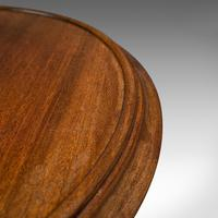 Antique Two Tier Table, English, Mahogany, Afternoon Tea, Cake Stand, Edwardian (9 of 12)
