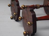 Pair of Regency Mahogany Circular Wine Tables (10 of 11)