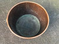 Antique English Copper Rivetted Log Bin (2 of 5)