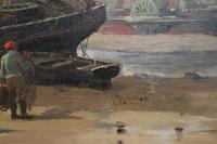 Boats in the harbour by James Webb (3 of 8)