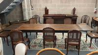 19th Century Extending Farmhouse Table (5 of 6)