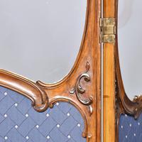 Louis XVI Style Mahogany Folding Screen (3 of 10)