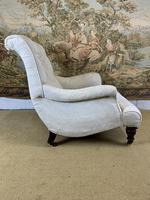 Beautifully Shaped English Armchair (5 of 6)