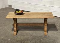 Great Rustic French Bleached Oak Coffee Table (7 of 25)