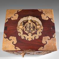 Antique Collector's Box, Chinese, Rosewood, Decorative Specimen Case c.1920 (8 of 12)