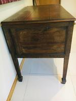 Wonderful George III Oak Sideboard Server / Buffet with Rare Cellaret Drawer c.1760-1820 (6 of 12)
