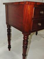 Georgian Mahogany Bow Dressing Table (5 of 7)