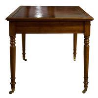 Early Victorian Mahogany Writing Table (3 of 9)