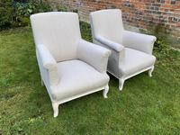 Pair of Large French Armchairs (6 of 7)