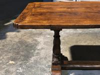 French Oak Farmhouse Refectory Dining Table (19 of 20)