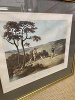 Set of Four 19th Century Coloured Prints of Shooting Scenes (5 of 6)