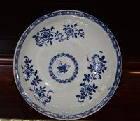 18th Century Liverpool Blue and White Porcelain Saucer (7 of 7)