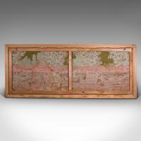 Large Antique Panoramic Tapestry, French, Needlepoint, Decorative Panel c.1910 (12 of 12)