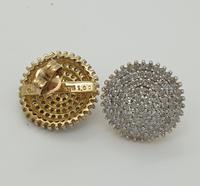 Diamond Starburst Cluster Earrings (5 of 6)