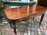 Antique Mahogany Side Table Desk (10 of 11)