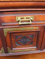 1920s Large Mahogany Aesetic Style Sideboard with Good Hardware (5 of 5)