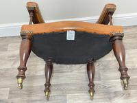 Charming Traditional Victorian Style Tan Brown Office Captains Bankers Chair (28 of 42)