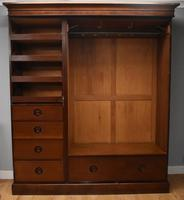 Victorian Mahogany Three Door Wardrobe (5 of 11)