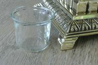 Fine William Tonks & Sons Aesthetic Movement Brass Inkwell with Liner c.1880 (2 of 5)