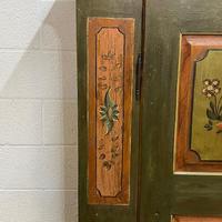 Beautiful Antique Pine Painted Wardrobe - Dismantles (7 of 7)
