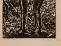 Adam and Eve by Kathleen Mary Bell (2 of 4)