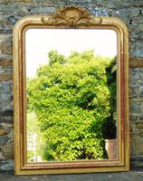 Beautiful Antique French Gilt Mirror (2 of 8)