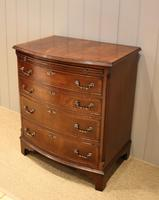 Mahogany Bow Front Chest of Drawers c.1920 (7 of 11)
