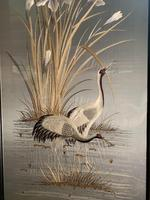 Japanese Embroidery of Cranes (3 of 16)