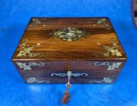 Victorian Jewellery Box with Mother of Pearl Inlay (2 of 13)