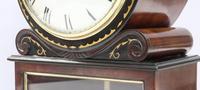 English George IV Mahogany Bracket Clock by L.Marks (4 of 8)