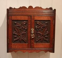 Victorian Carved Wall Cabinet (7 of 9)