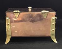 Arts and Crafts Copper and Brass Trinket Box (5 of 7)