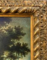 Substantial! Original Italian Landscape Oil by Follower of 17th Century Gaspard Dughet (14 of 15)