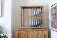 Antique Pine Freestanding Plate Rack (6 of 20)