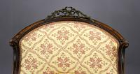 Victorian Rosewood Ladies & Gents Armchairs (5 of 22)