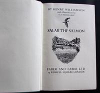 1936 1st Edition Salar the Salmon by Henry Williamson - Illustrated by C. F. Tunnicliffe (2 of 5)