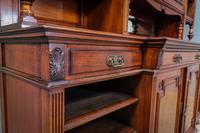Gillow & Co Library Walnut Bookcase (5 of 15)