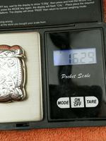 Antique Sterling Silver Hallmarked Vesta Gold Gilt 1921, John Rose (11 of 12)