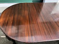 Antique Mahogany 8Ft Wind Out Extending Dining Table (10 of 14)