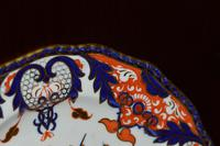 Fabulous Royal Crown Derby Bone China Scalloped Plate c.1890 (8 of 8)