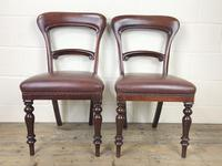Pair of Victorian Mahogany Chairs (3 of 8)