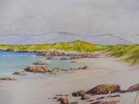 Watercolour White Strand Iona Artist Joyce Dalgety (9 of 10)