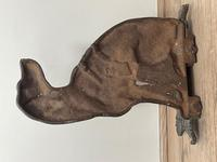19th Century Country House Seated Hound Dog Cast Iron Door Stop (26 of 37)