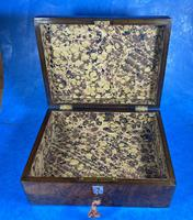 Victorian Jewellery Box in Burr Walnut (12 of 12)